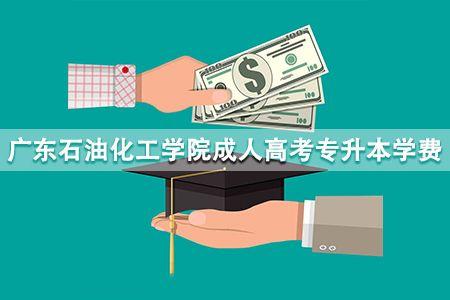 广东石油化工学院成人高考专升本学费