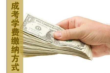 成考学费缴纳方式是什么
