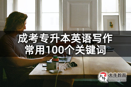 成考专升本英语写作常用100个关键词