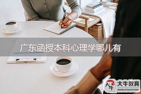 广东函授本科心理学哪儿有