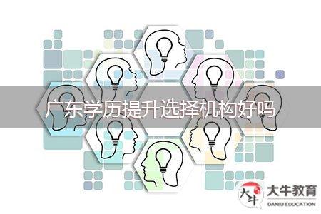 广东学历提升选择机构好吗