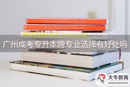 广州成考专升本跨专业选择有好处吗