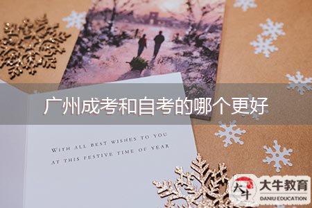 广州成考和自考的哪个更好
