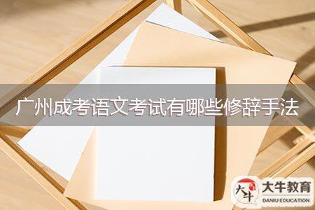 广州成考语文考试有哪些修辞手法