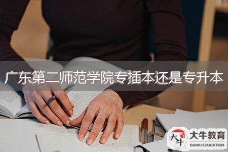 广东第二师范学院专插本还是专升本
